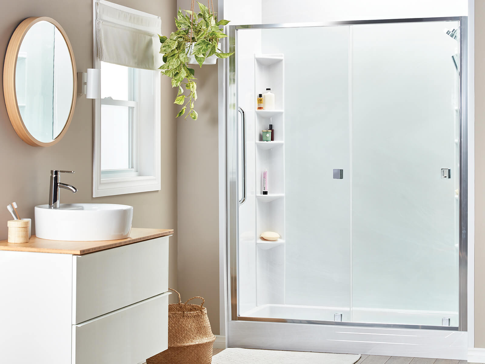 Replace your old bathtub with a new shower!