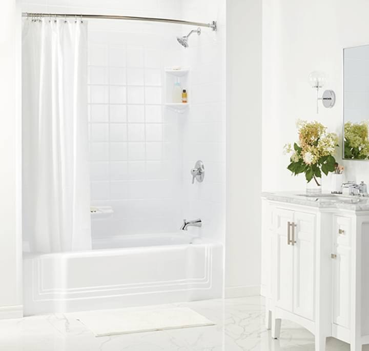 Mess Free One Day Bathroom Remodel Bath Fitter Us